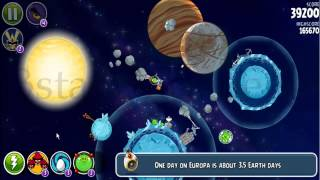 Angry Birds Space Solar System episode! All Levels by 3starsgoldenegg