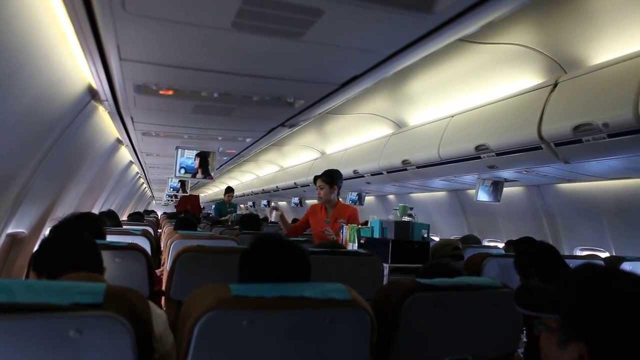 Foto Dalam Pesawat Dalam Penerbangan Pesawat