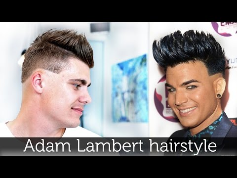Adam Lambert Hair | hairstyle inspiration for men | perfect mens hair