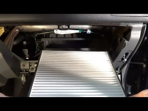 How To Change The Cabin Air Filter In 2003-2007 Honda Accord