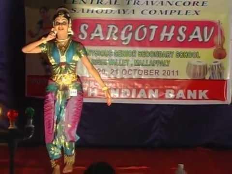 BHARATANATYAM BY ATHENA SADIQ (1st prize)