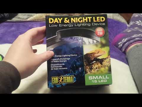 Exo Terra Day & Night LED Light Review