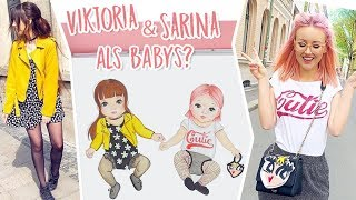 Viktoria & Sarina als Babys | TOPModel Fashion Kids || Foxy Draws