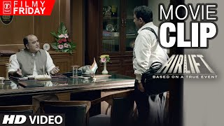 AIRLIFT MOVIE CLIPS 9 - Trick to Use When Your Minister Acts MUTE