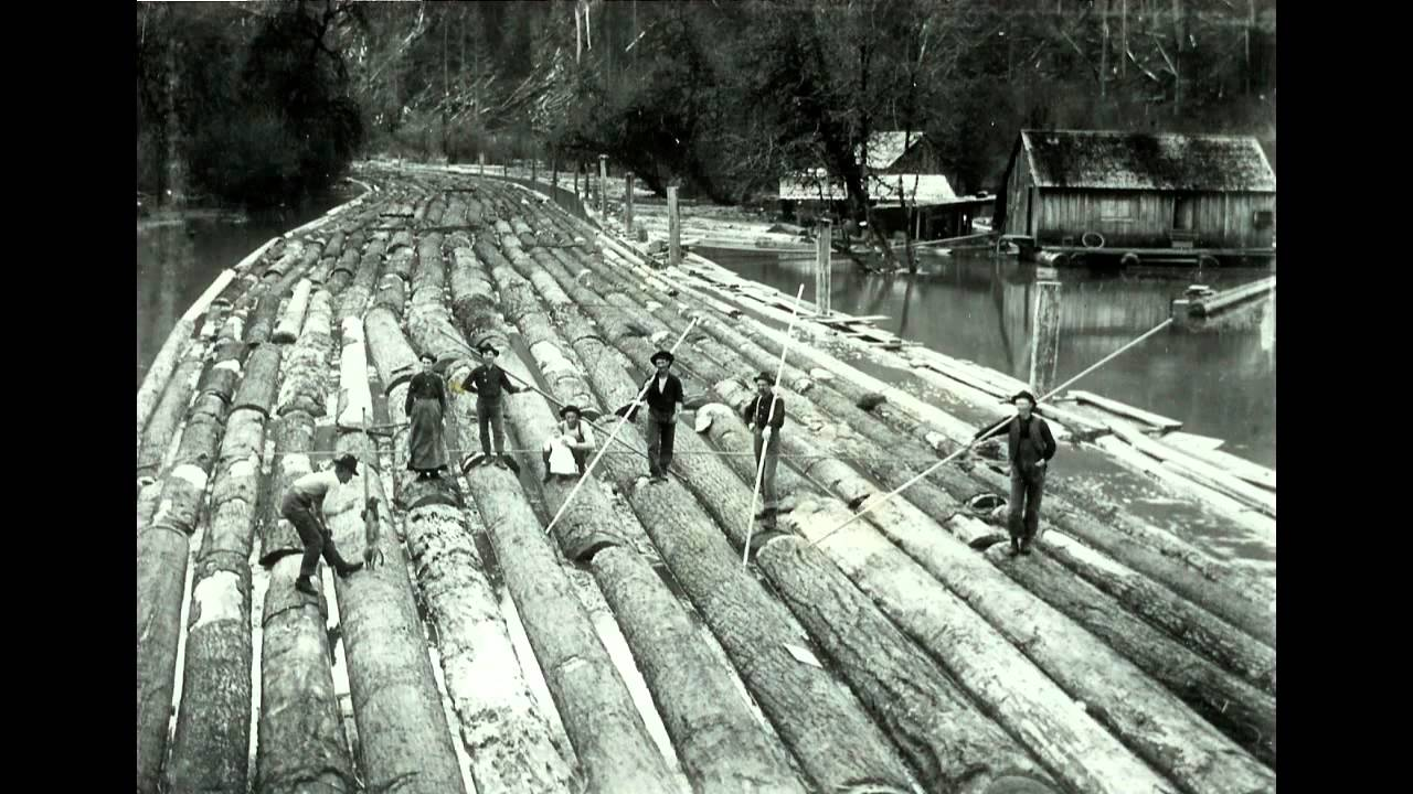 Old Logging Photos With Ralph Stanley Youtube