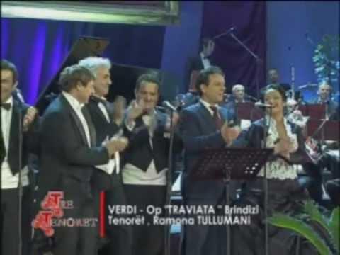 BRINDISI - TRE TENORET 2011, R.TULLUMANI, TENORET SHQIPTARE DHE ITALIANE