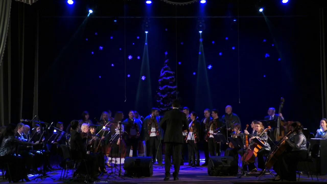 Вечорниці і колядки. У Калуші викладачі та учні музичної школи вразили Різдвяним концертом
