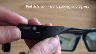 My Samsung SSG-3500CR 3D Active Glasses (unboxing)