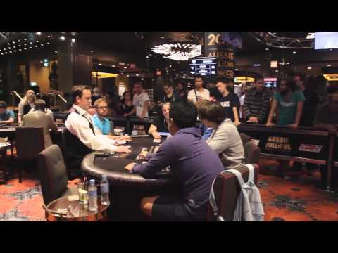Aussie Millions 2014 - High Stakes Cash Game, Episode 1 | PokerStars
