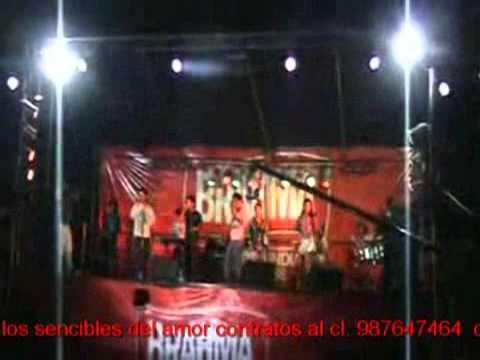 Los sencibles del amor en vivo 2011 Quince dias DR mpg4