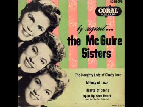 McGuire Sisters- Open Up Your Heart And Let The Sun Shine In
