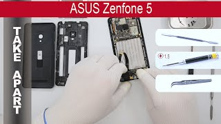How to disassemble 📱 ASUS ZenFone 5 A500CG / A501CG, Take Apart, Tutorial