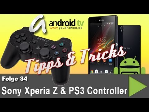 Sony Xperia Z mit PS3 Controller verbinden ohne root - Tipps & Tricks [34]