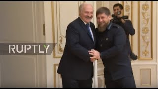 Belarus: Kadyrov and Lukashenko meet for first time in Minsk