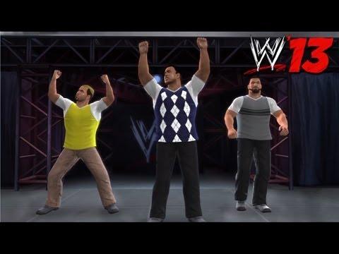 WWE '13 Community Showcase: Mean Street Posse (PlayStation 3)