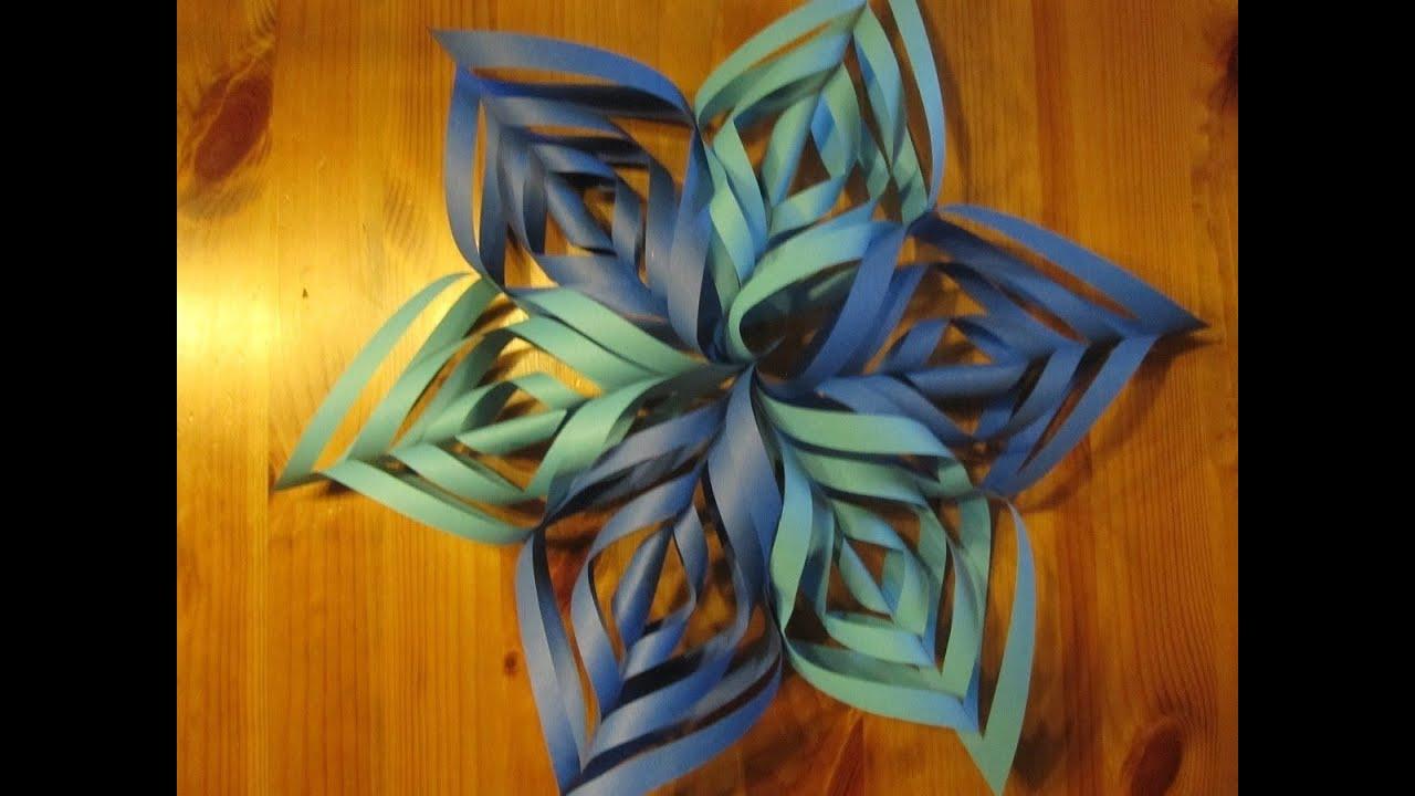 weihnachtsbasteln papierstern ornament basteln bastelideen weihnachten weihnachtsdeko youtube. Black Bedroom Furniture Sets. Home Design Ideas