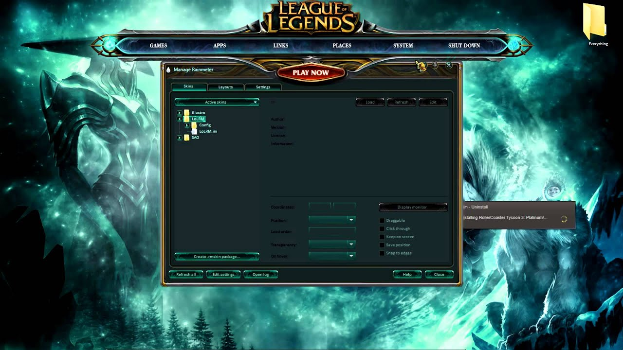 Panduan Instalasi league of legends download windows