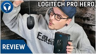 Logitech Pro Hero (2018) Gaming Mouse + Logitech Gaming Software Review | Deutsch/German