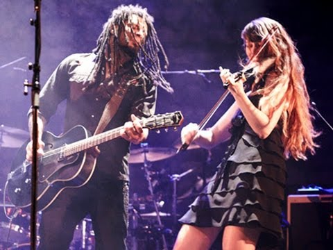 Electric Violin and guitar improvisation : Eric McFadden&Stephanie Valentin