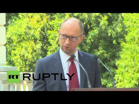 "Ukraine: ""Russian sovereignties can't purchase Ukrainian property"" - Yatsenyuk"