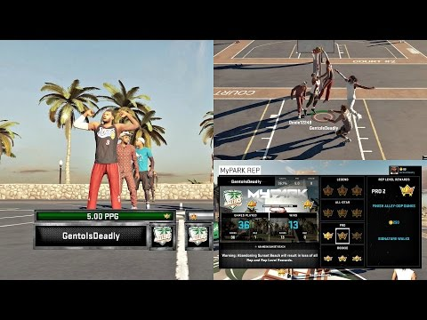NBA 2K15 PS4 MyPARK - Road to Legend 3! Making Progress!! Ep. 8