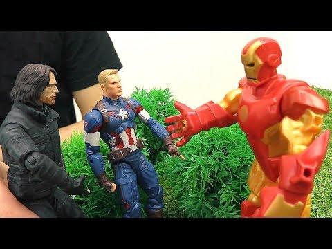 #СУПЕРГЕРОИ грабят БАНК? Железный Человек в ШОКЕ! Джокер подставил Капитана Америка.