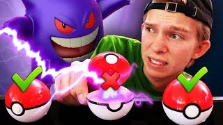 DONT Open the Wrong Pokeball!! (MYSTERY POKEMON ATTACKS IRL)