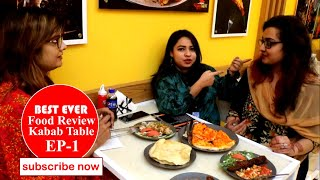Best Ever Food Review of Kabab Table by pothik tv : Ep-1