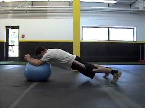 Free MMA Training Workouts - Gym Workout 1C ex7 - Thai Clinch Roll out Image 1
