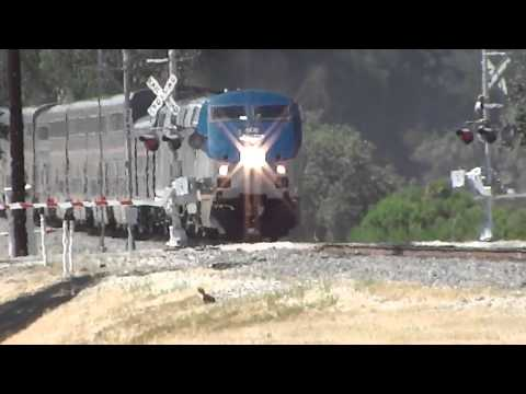 Amtraks of Sun 19 and Mon 30 Jun 2014 [HD]