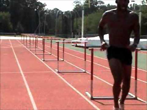 Hurdle Training - Quick Step Drilling over the 39s