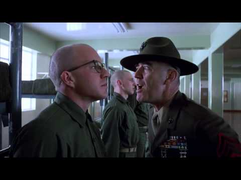 Full Metal Jacket - Gunnery Sergeant Hartman video