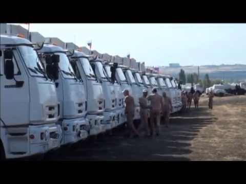 New Russia 'Aid' Convoy: More than 200 trucks poised near insurgent-controlled Ukraine border