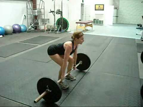 Deadlifts are essential when training CrossFit! Proper technique is critical to avoid back pain Image 1