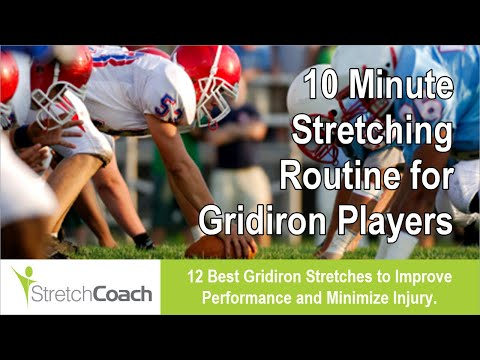 Football Stretches, Best Football Stretching Routine, Flexibility Program for Football Players