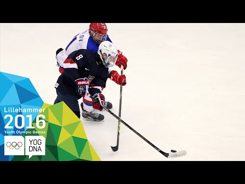 Ice Hockey - ​Men's Semi-Finals - USA Vs Russia | ​Lillehammer 2016 ​Youth Olympic Games​