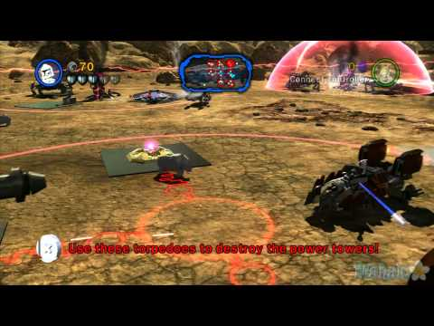LEGO Star Wars III: The Clone Wars - Count Dooku - Chapter 2 - Gungan General - Part 1