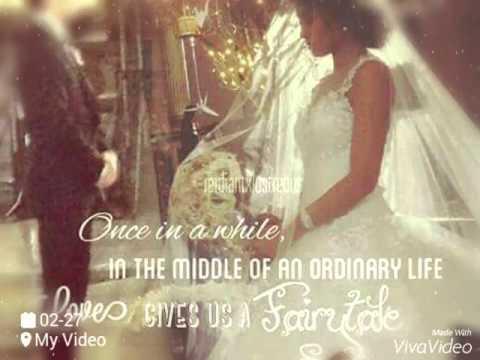 Beginning today wedding song jadine