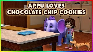 Appu Loves Chocolate Chip Cookies (4K)