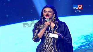 Aditi Rao Hydari speech at Antariksham 9000 KMPH Pre Release Event