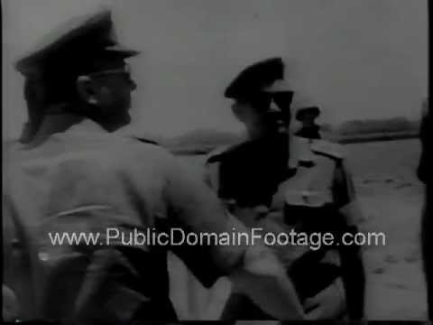 Unrest in Middle East - 1967 Israeli and Egyptian crisis  www.PublicDomainFootage.com