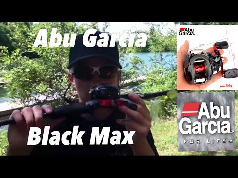 Abu Garcia black max baitcasting reel review