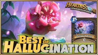 Hearthstone - Best of Hallucination - Funny and lucky Rng Moments