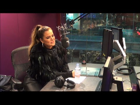 Khloe Kardashian Chats With Nick Grimshaw