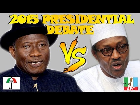 Nigeria Presidential Election Debate 2015 : Buhari Finally Shows Up Late To Tackle Jonathan