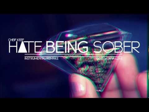 Chief Keef - Hate Being Sober (instrumental) (reprod. Wonya Love) video