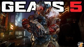 GEARS 5 Multiplayer - Arcade Gameplay on Multiplayer Map District FULL MATCH!