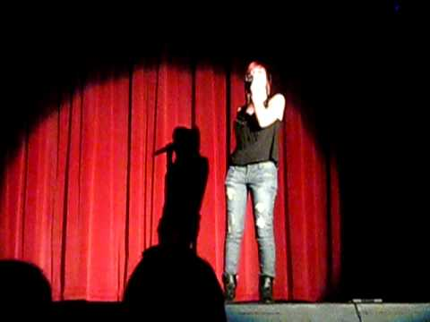 Amanda Singing At Southwest Miami Senior High School