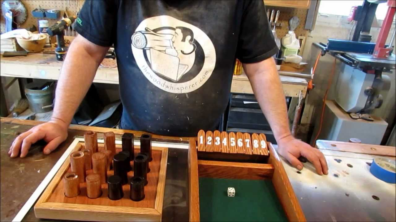 Shut the Box Traditional Pub Game | How to Play (Rules ...