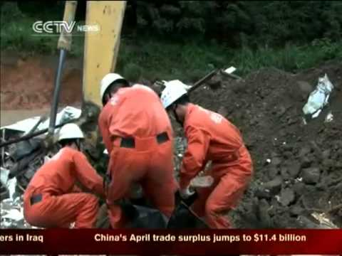 China news:6 killed in Guangxi landslide